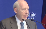 Democratic gubernatorial candidate Bill White denies claims that he financially benefited from an investment in a company that helped in Hurrican Rita cleanup. Video courtesy of Tribune news partner KHOU-TV in Houston.