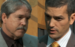 State Reps. Mike Villarreal, D-San Antonio, and Larry Taylor, R-Friendswood, react to the passage of HB4 and HB275, and preview of the upcoming battle over HB1, the House's bare-bones general appropriations plan for the next biennium.