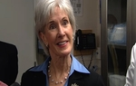 U.S. Health and Human Services Secretary Kathleen Sebelius said on Friday that the federal government is on the brink of cutting off funding for Texas' Women's Health Program over the state's insistence on excluding Planned Parenthood.
