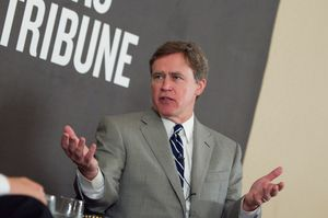 At Thursday's TribLive conversation, state Rep. Dan Branch, R-Dallas, addressed the rumors that he plans to run for attorney general in 2014.