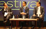 At the 2012 Texas Tribune Festival, San Antonio Mayor Julián Castro and Republican U.S. Senate nominee Ted Cruz talked about the former's plan to raise sales taxes to fund pre-K.