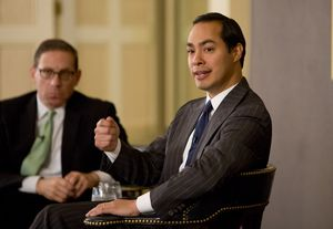At our 5/1 conversation, Julián Castro, the U.S. Secretary of Housing and Urban Development, talked about the 2016 presidential race — assessing the GOP field and gently deflecting questions about his own veep prospects.