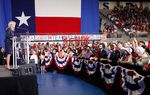 State Sen. Wendy Davis, D-Fort Worth, made her run for Texas governor official Thursday evening. She announced her plans before a packed crowd of supporters who said they're ready to go door to door to help her win.