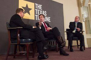 Here's full video of my May 30 TribLive conversation debriefing the 83rd Legislature with state Sens. Dan Patrick, R-Houston, and Kirk Watson, D-Austin.