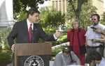 "In 2008, Gov. Rick Perry moved from the Governor's Mansion into a $10,000 a month estate in West Austin. Perry says security is his top concern and ""to do that on the cheap is pretty hard to do."" His critics say he's living a luxurious lifestyle on the taxpayers' dime."