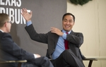 At this morning's TribLive conversation, state Rep. Joaquin Castro, D-San Antonio, talked about the political and personal consequences of having briefly challenged U.S. Rep. Lloyd Doggett, D-Austin, in the Democratic primary for Congress.