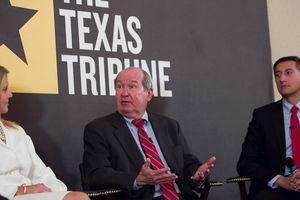"At Thursday's TribLive conversation, state Rep. Giovanni Capriglione, R-Southlake, and ethics and campaign finance lawyer Randall ""Buck"" Wood talked to the Tribune's Ross Ramsey about transparency in political giving."