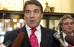 Gov. Rick Perry was asked this morning whether he'd be interested in the vice presidency. (Spoiler alert: No.)