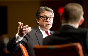 At the 2014 Texas Tribune Festival, Gov. Rick Perry answered an audience question about controversial abortion legislation by citing the recent death of comedian Joan Rivers.