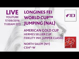 2016 Hermes Sellier Classic & Fidelity Investments Classic CSI 4*