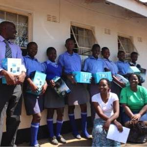 BAPZ Guardian Angel Programme Donates Solar Lamps to Students