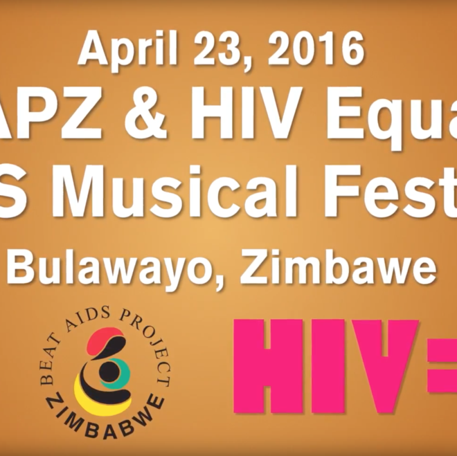 BAPZ/HIV Equal AIDS Musical Festival in Bulawayo, April 23, 2016