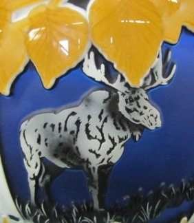 Lot Kelsey Murphy Cameo Glass Auction