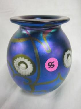 Lot Art Glass & Pottery Auction