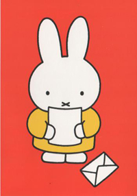 Dick Bruna and Miffy