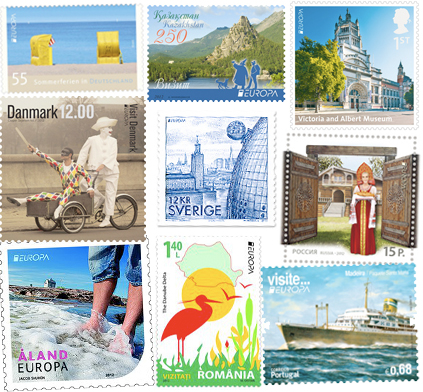 best europa stamp 2012