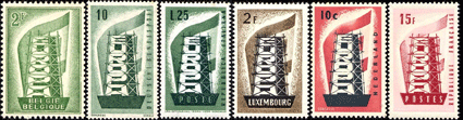 first europa stamps