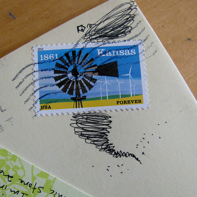 Flickr stamp