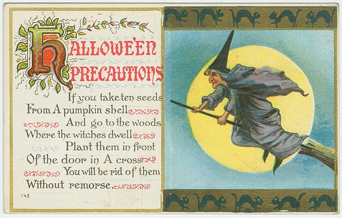 Vintage Halloween Postcards 