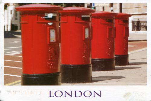 london postbox