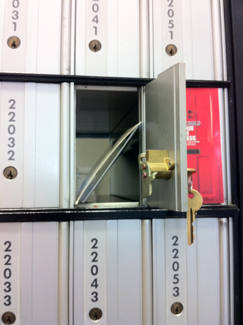 Postmuse's post office box