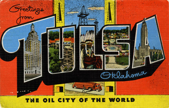 Tulsa - Teich Company postcard
