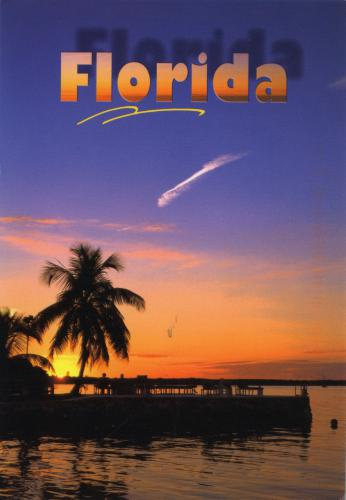 The evening view of Florida from EJKorvette.
