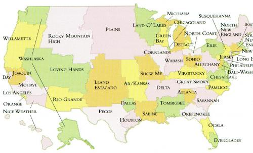If Every US State Had The Same Population What Would The Map Of - Atlanta in us map