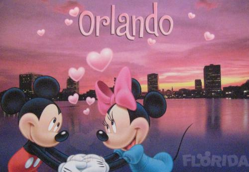 Lucky me! The postcard from Disneyworld :)