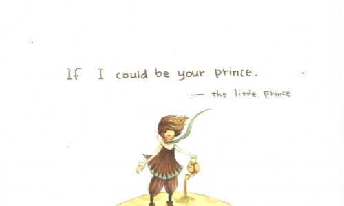 Wonderful Little Prince card! Thanks to Xuan, China!