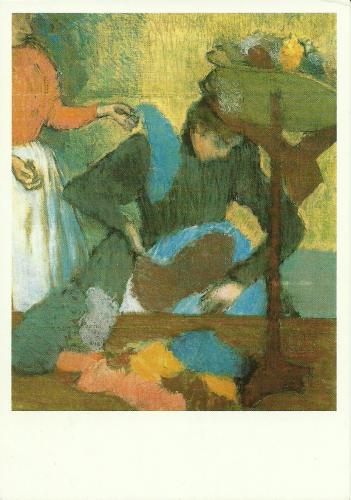 Edgar Degas: At the Hatmakers -Chez la modiste.