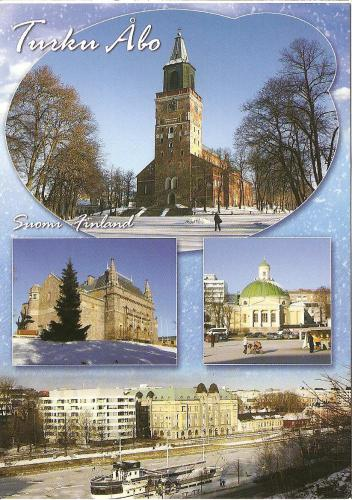 Turku- the capital of Finland before Helsinki:)
