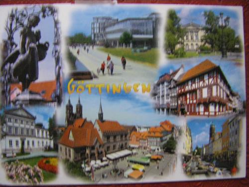 My first card from Germany
