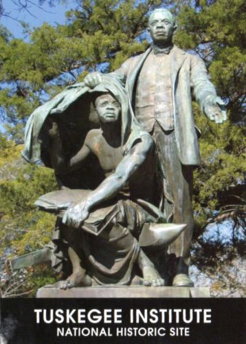 The Booker T. Washington Monument in Tuskegee, Alabama