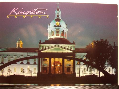 5.1.2012 USA, City Hall Kingston, Ontario, Canada