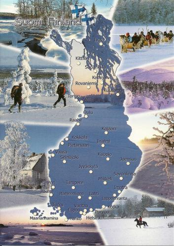 Super card, thank you Maisa from Finland