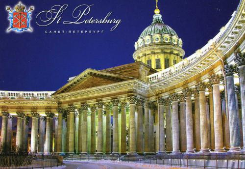 Kazan Cathedral, St Petersburg 圣彼得堡 喀山大教堂