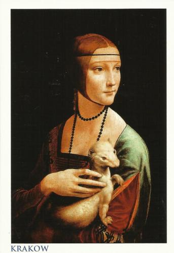 Lady with an Ermine (Portrait of Celilia Gallerani) | by Leonardo da Vinci