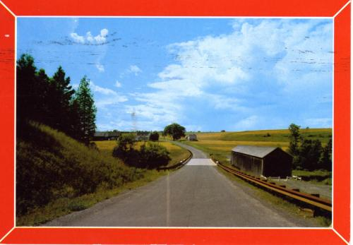 Aroostook County in Maine, the USA