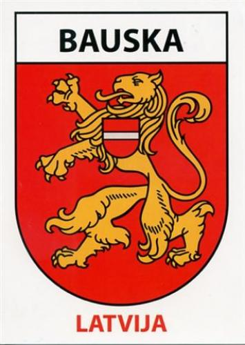 Coat of arms of Bauska.