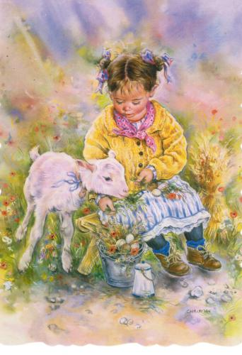On the farm by Christine Haworth Designs (English illustrator), it's from my favorites! Thanks Marja