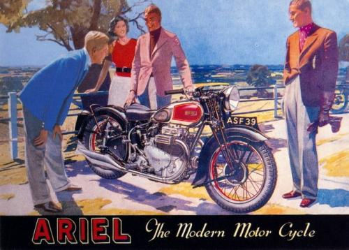 Ariel - The Modern Motor Cycle