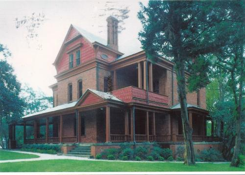 The Oaks - Home of Booker T. Washington - This Queen Anne style home was built in 1899.  Restored by National Park Service in 1981 - Received from Alabama - USA.