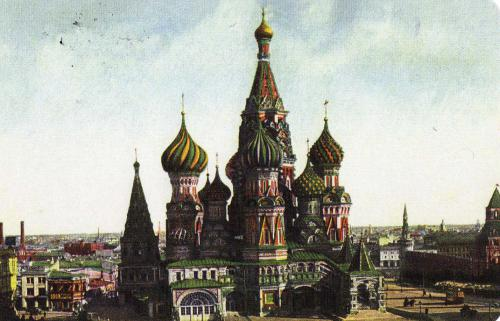 The review of St. Basil's Cathedral