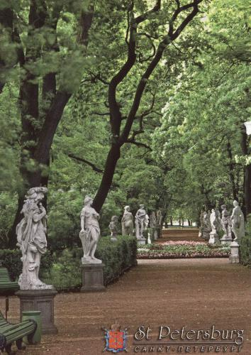 The Summer Gardens, Sankt Peterburg, Russia