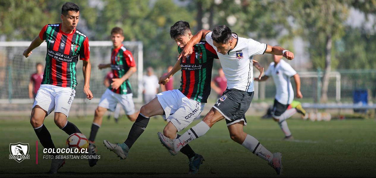 La Sub 17 goleó a Palestino en la Ruca