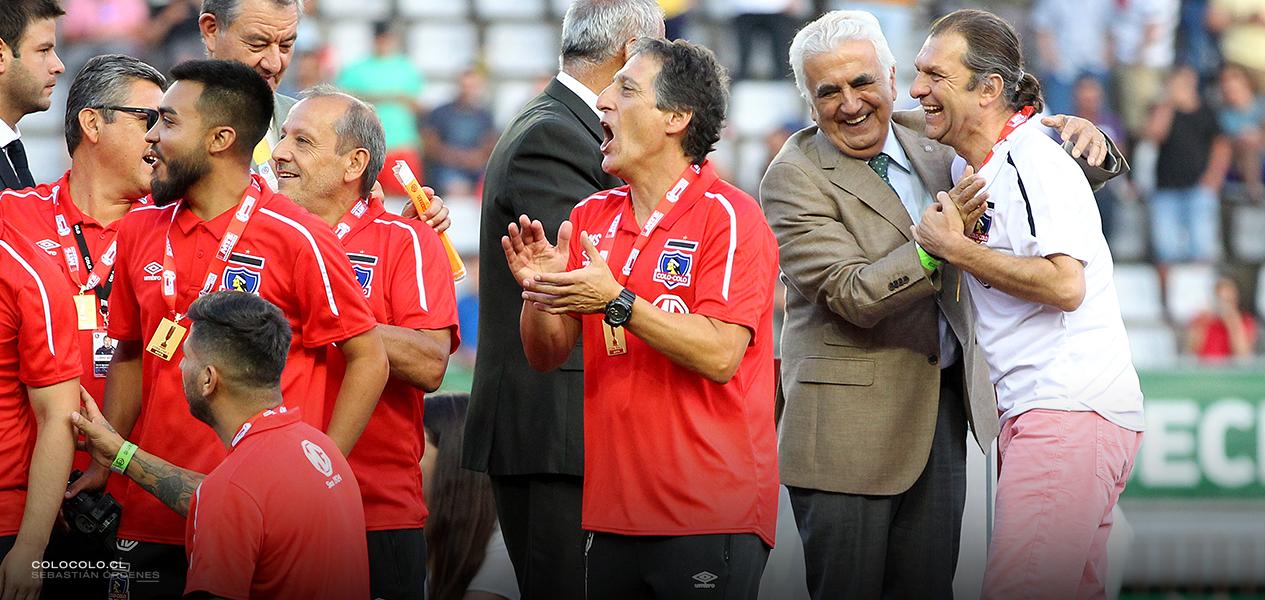 Mario Salas destacó la voluntad y jerarquía de Colo Colo
