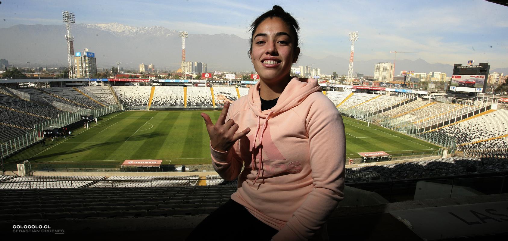 """Las confesiones de Valentina Díaz: """"Mi sueño era vestir esta camiseta"""""""