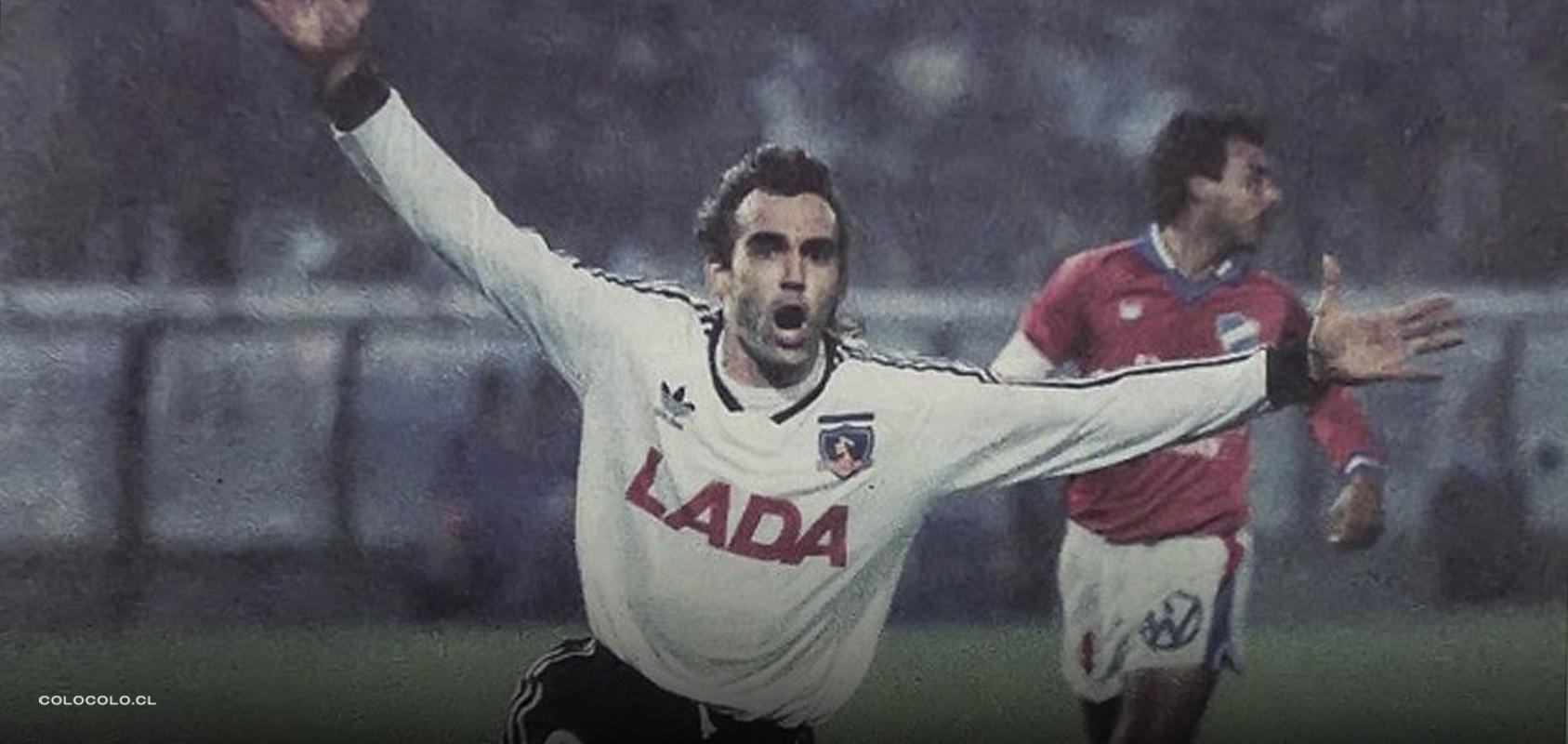 """Dabrowski y Colo-Colo 1991: """"Fue lindo ser el goleador de ese torneo, pero más importante lo que conseguimos como equipo"""""""
