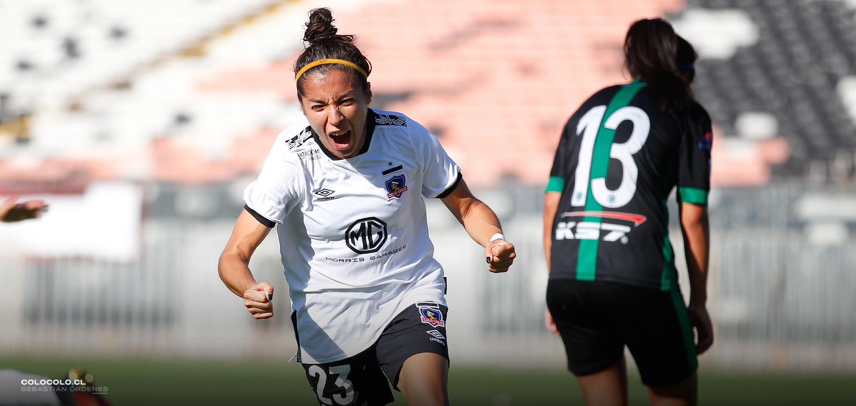 """Nicol Sanhueza: """"Siempre luché por ser futbolista, pero no pensé que lo haría en Colo-Colo"""""""